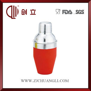 250ml Red Color Cocktail Shaker Custom Mini Shaker