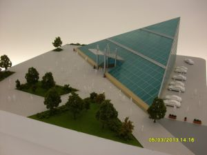 Architectural Model of Miniature Building (JW-364) pictures & photos