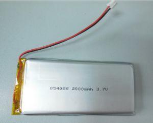 Lipolymer Battery 054086 3.7V 2000mAh China Manufacturer