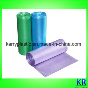 HDPE Refuse Sack Plastic Bags Garbage Bags on Roll pictures & photos