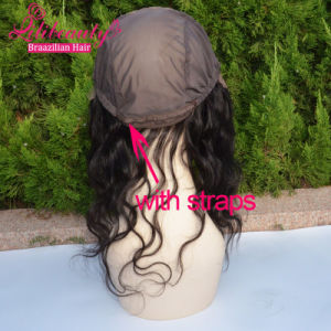 Quick Wig Lace Band Fronal Cap with Straps Body Wave Lace Fronal pictures & photos