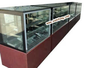 Upright Glass Pastry Refrigerated Case (CE) pictures & photos