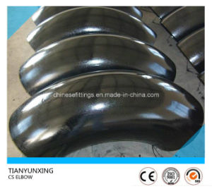 A234wpb Butt Welded Lr 90degree Carbon Steel Pipe Elbow pictures & photos