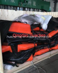 New Type Sea Use PU Float Rubber Oil Booms pictures & photos