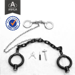High Quality Military Police Handcuff with Leg-Iron pictures & photos