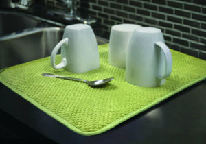 Microfiber Drying Mat for Dish (4413) pictures & photos