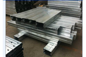 Ms Slotted U Steel Channel Galvanized or Natural Surface pictures & photos