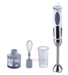 400-Watt Electric Stainless Steel Immersion Hand Blender (Hhb-400W-2208c)