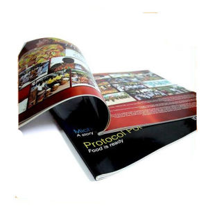 Perfect Binding Colorful Booklet Printing (jhy-845)