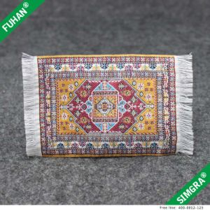 Chinese Style Design Rectangle Clothing Woven Label pictures & photos