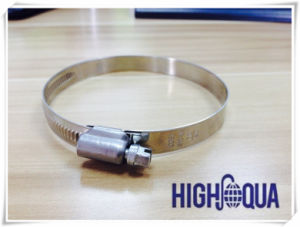 Various Size German Type Hose Clamp in Different Material Factory pictures & photos
