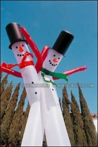Air Dancer, Snowman Sky Dancer, Inflatable Air Tubes (C1002) pictures & photos