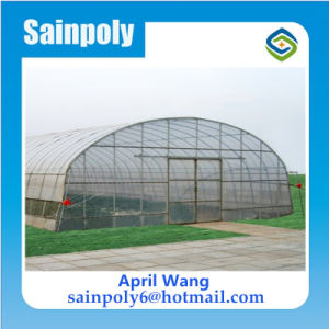 Low Cost Plastic Tunnel Agricultural Greenhouse pictures & photos