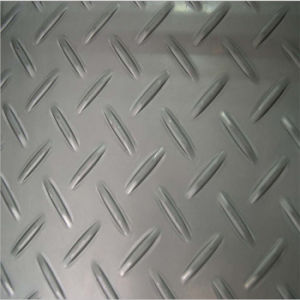 Ss304 Ss316 No8 Hr Cr Stainless Checkered Plate pictures & photos