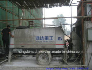 Trailer Concrete Pump with Output 60m3/H pictures & photos