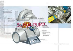 Single Stage Double Split Suction Case Centrifugal Pump with Engine pictures & photos