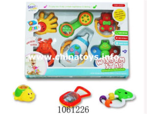 Plastic Cartoon Baby Toy Guitar with Music (1061225) pictures & photos