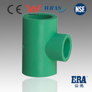 PPR Pipe Fittings DIN8077/8088 Reducing Tee pictures & photos