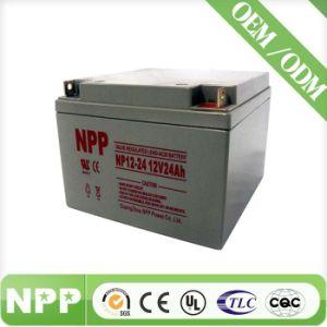 Maintenance Free VRLA Inverter Battery (12V 24ah)