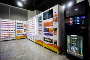High-Class Coffee Vending Machine pictures & photos