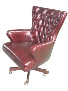 Genuine Leather Office Chair (OC003) pictures & photos