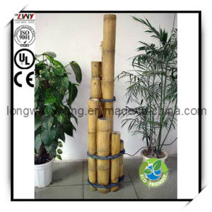 62.5-Inch Fiberglass 5 PCS Bamboo Fountain for Home Decor