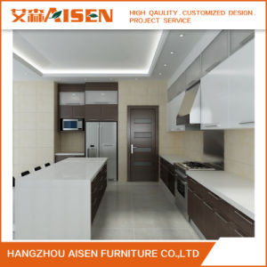 New Design Modular Residential Kitchen Cabinet From Hangzhou pictures & photos