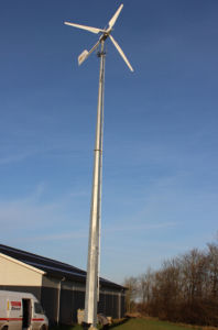 Ah-10kw High Feedback Wind Generator on Grid System with Full Configuration
