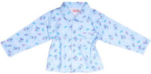 Children′s Flannel Pajama Make of 100%Cotton Brushed Fabric pictures & photos