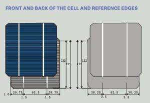 125x125 Mono Solar Cells