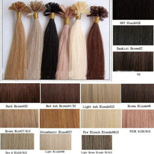 Best Quality Remy U Tip Keratin Human Hair Extension pictures & photos