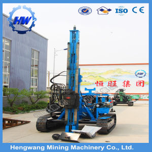 Road Guardrail Installation Pneumatic Pile Driver with Air Compressor pictures & photos