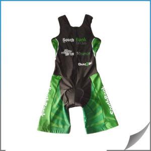 Custom Women Sublimated Triathlon Sleeveless Suit/ Trisuits/Triathlon Top pictures & photos
