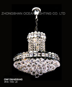 Crystal Light Modern China Lighting, Cheap Chandelier (OW138) pictures & photos