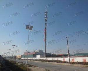 High Quality Landscape Monopole Tower with Advertisement pictures & photos