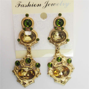 New Item Unique Glass Stones Fashion Jewellery Earrings pictures & photos