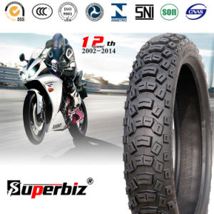 Motorcycle Rubber Tubeless Tyre (110/100-18) for Hard Terrain pictures & photos