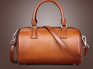 Top Brown Cow Leather Travel Handbag, Offering OEM/ODM (H8491) pictures & photos