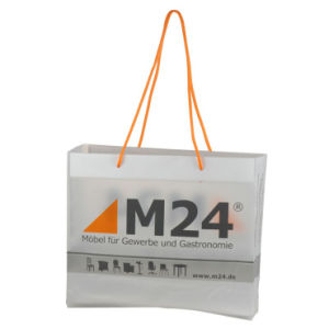 Fashionable Custom Printed Rope Handle Bags for Shopping (FLS-8203) pictures & photos