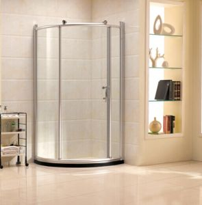 Simple Tempered Glass Shower Room with Sliding Door (R12) pictures & photos