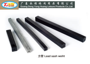 Square Shaped High Quality Lead Sash Weight Lead Bar Lead Pipe pictures & photos