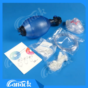 First Aid Kit PVC Manual Resuscitator pictures & photos
