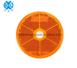 Round 60mm Reflex Reflector, Widely Used for Truck and Trailer pictures & photos