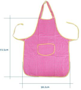 High Quality Fashion Waterproof Kitchen PVC Apron pictures & photos