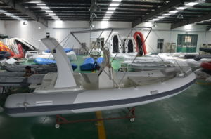 Rigid Fishing Boat (5.5m, white&light grey) pictures & photos