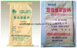 Paper-Plastic Compound PP Woven Bag for Mortar, Cat Litter pictures & photos