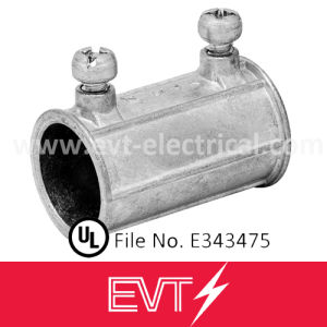 UL Listed Zinc Set Screw EMT Conduit Coupling pictures & photos