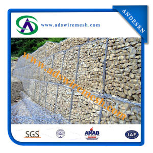 260G/M2 High Zinc Coating Gabion Mesh pictures & photos
