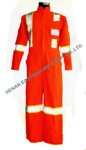 Worker Unisex Safety Overall (Em316)