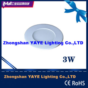 Yaye Hot Sell Round 3W LED Panel Light /3W LED Panel Lamp with CE/RoHS pictures & photos
